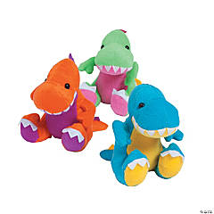 Plush Easter Dinosaurs