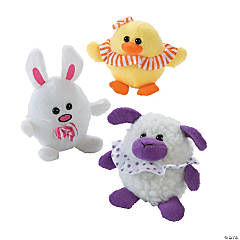 Plush Easter Egg Character Assortment