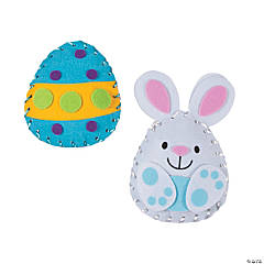 Plush Easter Lacing Craft Kit