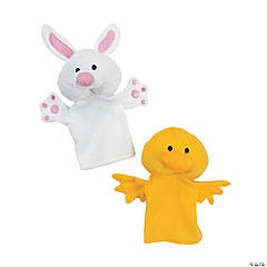 Plush Easter Puppets