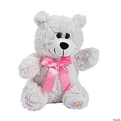 Plush Flower Girl Bear