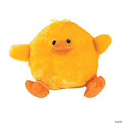 Plush Fuzzy Chubby Chicks