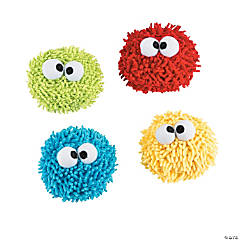 Plush Googly Eye Dry Erase Board Erasers