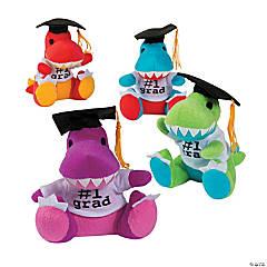 Plush Graduation Dinosaurs