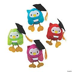 Plush Graduation Owls