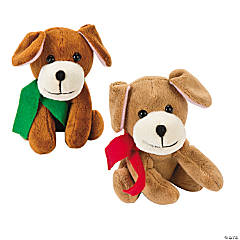 Plush Holiday Dogs
