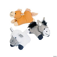 Plush Journey To Jesus Mini Bean Bag Animals