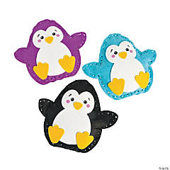 Plush Lacing Penguin Craft Kit