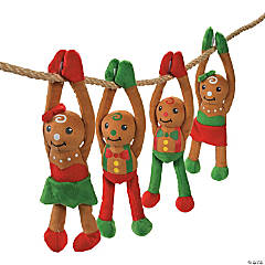 Plush Long Arm Gingerbread Characters