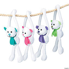 Plush Long Arm Polar Bears