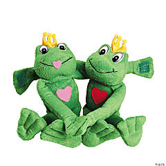 Plush Long-Armed Valentine Frogs