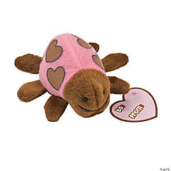 Plush Mini Valentine Ladybugs