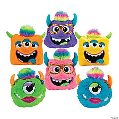 Plush Monster Pillow Assortment