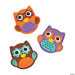 Plush Owl Lacing Craft Kit