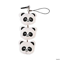 Plush Panda Cell Phone Screen Cleaner Charm