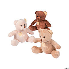 Plush Patchwork Bears