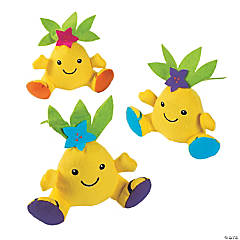 Plush Pineapple Characters