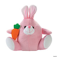 Plush Pink Easter Bunnies