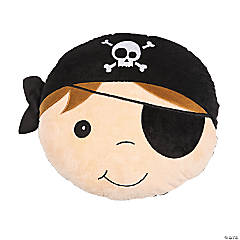Plush Pirate Pillow