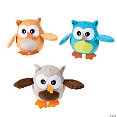 Plush Plump Owls