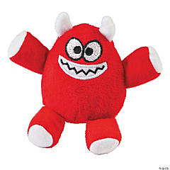 Plush Red Monsters