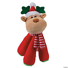 Plush Reindeer Dog Toy