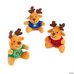 Plush Reindeer with T-Shirt