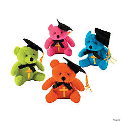 Plush Religious Graduation Bears