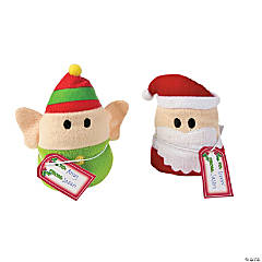 Plush Santa & Elves