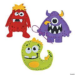 Plush Silly Monster Craft Kit