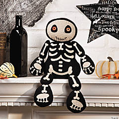 Plush Skeleton Shelf Sitter