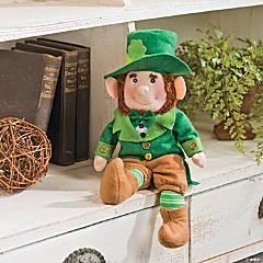 Plush St. Patrick's Day Leprechaun
