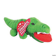 Plush Valentine Alligators
