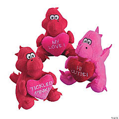 Plush Valentine Dragons