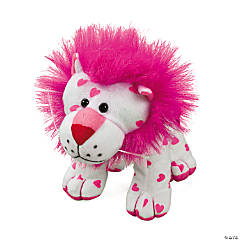 Plush Valentine Lion