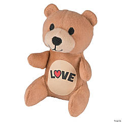 Plush Valentine Love Bears