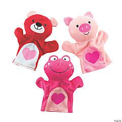 Plush Valentine's Day Hand Puppets