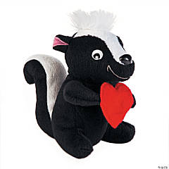 Plush Valentine Skunks