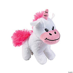 Plush Valentine Unicorns
