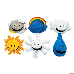Plush What's the Weather Puppets