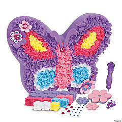 PlushCraft Butterfly Pillow Kit