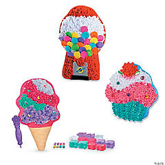PlushCraft Pillow Kits: Sweet Treats Set of 3