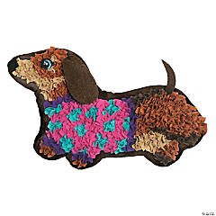 PlushCraft: Weiner Dog Pillow