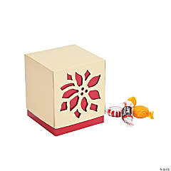 Poinsettia Favor Boxes