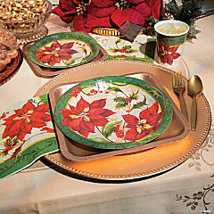 Poinsettia Party Supplies