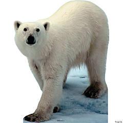 Polar Bear Cardboard Stand-Up
