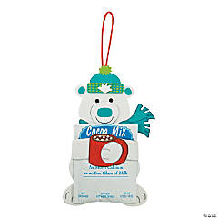 Polar Bear Hugging Cocoa Craft Kit