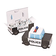 Police Party Favor Boxes