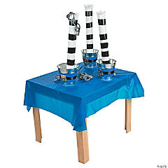 Police Party Handcuff Ring Toss Game Idea