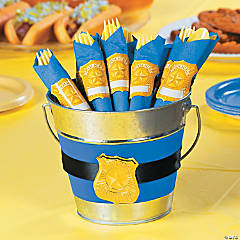 Police Party Napkin Ring Idea